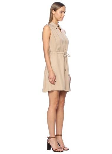 NetWork Elbise Bej